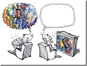 Books v TV